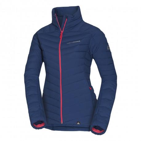NORTHFINDER dámská bunda ultra-lehká pro suché a chladné počasí EXTRA SIZE BESIMA