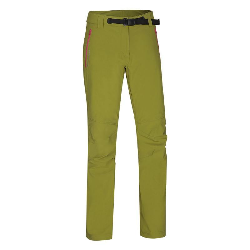 NORTHFINDER dámské kalhoty promo 1layer CHANA - Dámské trekingové 1-vrstvé kalhoty disponují vysokou vodoodpudivostí a elasticitou materiálu. Povinnou jízdou u těchto kalhot jsou tvarovaná kolena, nastavitelný opasek a reflexní prvky. Navrhli jsme je jako všestranné řešení pro outdoorové aktivity v podzimním a zimním období.
