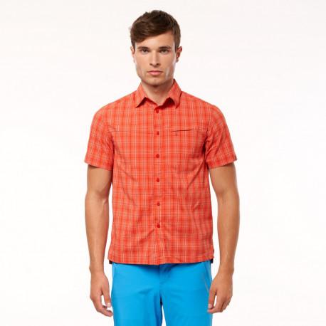 NORTHFINDER pánská technická košile outdoor krátký rukáv CASEN