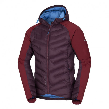NORTHFINDER men's insulated jacket combination with softshell