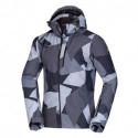 Men's jacket insulated multi camo print DYSFTOR