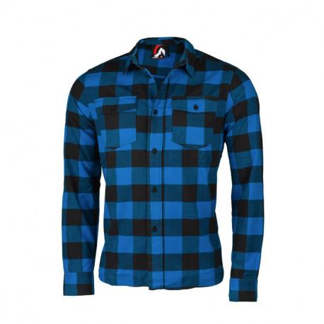 NORTHFINDER pánská flanelová košile – bavlněný styl
