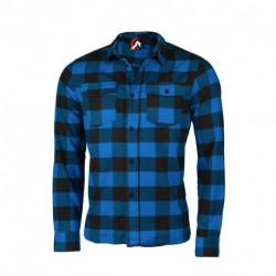 KO-3200OR pánska bavlnená flanelová košeľa regular štýl RUNAH