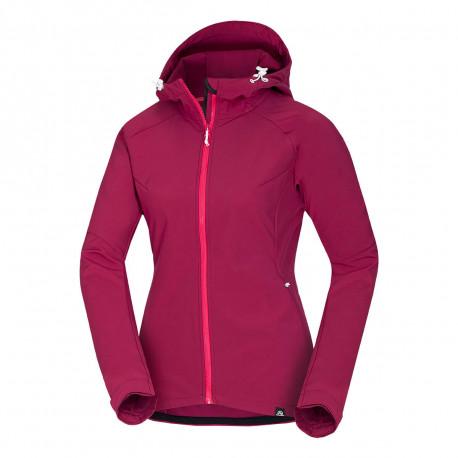NORTHFINDER women's softshell jacket travel style 3-layer