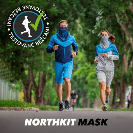 NORTHFINDER négyévszakos UPF50+ unisex nyak -és arcvédő maszk NECKFACEMASK