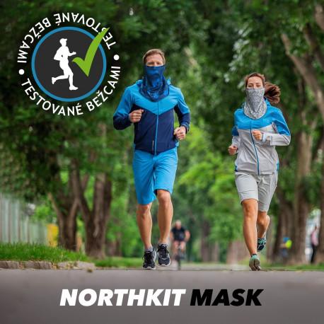 športová maska -rúško na tvár alebo krk NORTHKIT