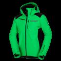 Pánská bunda lyžařská zateplená softshell 3L DREWIN