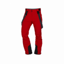 Pánske nohavice lyžiarske stretch softshell plná výbava HARSY