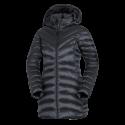 Women's jacket insulated metalic style hood VESWA