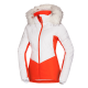 Women's jacket ski insulated fur NORTHENAS