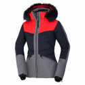 Dámska bunda lyžiarska zateplená plná výbava DREWINESTA
