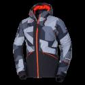 Férfi kabát szabad stílusban meleg teljesen felszerelt, teljes nyomtatási ELKLIPS ELKLIPS