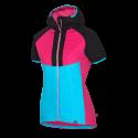 Dámska SKITOURING vesta aktívny šport zateplená Primaloft® izolácia Eco Black RIKONA