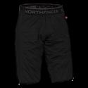 Pánske zateplené SKITOURING nohavice Primaloft® izolácia Eco Black VINCEZO