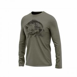TR-3563AD pánske tričko s potlačou organic cotton KIERAN