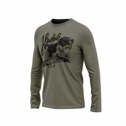 TR-3562AD pánske tričko s potlačou organic cotton TRISTIAN
