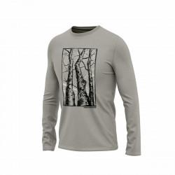 TR-3560AD pánske tričko s potlačou organic cotton GARY