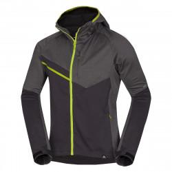 BU-38631OR Men's softshell jackets melange BORHIS