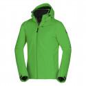 Pánská lyžařská zateplená bunda s plnou výbavou softshell 3L KOBE