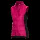 Women's hybrid outdoor vest.