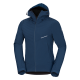 Men's softshell jacket with membrane and extra insulated shoulder sections.