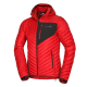 Men's lightweight insulating jacket also suitable as a dry-weather jacket.