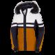 Dámska lyžiarska zateplená bunda určená pre zjazdové lyžovanie AMITY