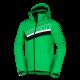 Pánska trendová lyžiarska zateplená bunda s plnou výbavou softshell 3L NATHAN