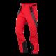 Men's ski softshell insulated pants.