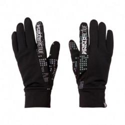 AS-1031OR unisex rukavice elastické reflexné DIHEN