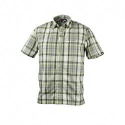 KO-30462OR pánska košeľa technický outdoor krátky rukáv LEMON