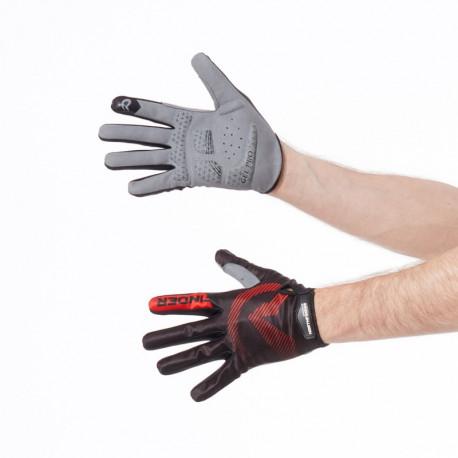 NORTHFINDER pánské rukavice cyklistické down-hill s gelovou výplní MYLONG