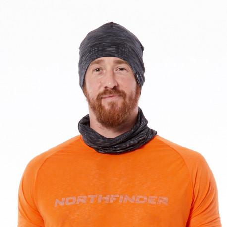 NORTHFINDER unisex čepice běžecká celopotlač reflexní RUNWONG