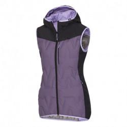 VE-42581OR dámska zateplená vesta lepený vzor primaloft® insulation downblend YSALA