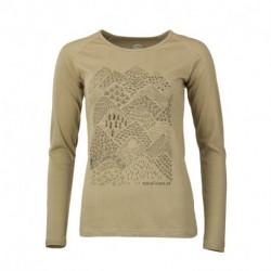 TR-4461OR dámske tričko organická bavlna EXTRA SIZE VYOLA