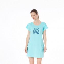 TR-4493OR dámske tričko bavlnené dlhé DAPHNIJA