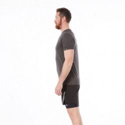 TR-3513RG pánske tričko bežecké melanžový vzhľad BOLTIN