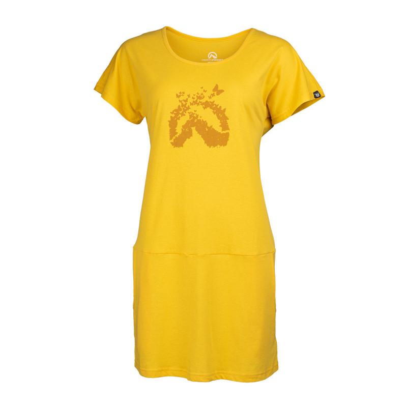 TR-4493OR dámske tričko bavlnené dlhé DAPHNIJA -