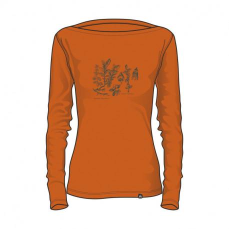 NORTHFINDER dámske tričko bavlna s potlačou RODZESA