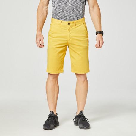 NORTHFINDER pánské šortky bavlněné-strečové s páskem VERMONODOL