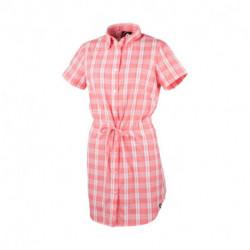 KO-4061SP dámska košeľa voľnočasová krátky rukáv dlhý štýl LEWINA