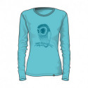 Women's t-shirt solid cotton style QYNA