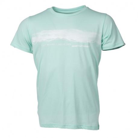 TR-3277OR men's t-shirt outdoor pixel print JAEDEN