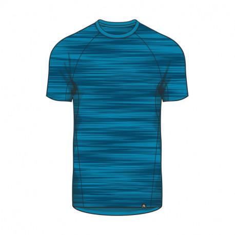 TR-3354SP men's melange t-shirt street-look shortsleeve BOMERS