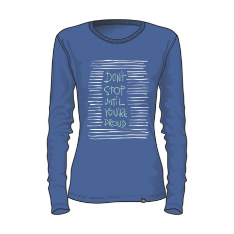 TR-4341SNW women's cotton t-shit don´t stop ANNABELL