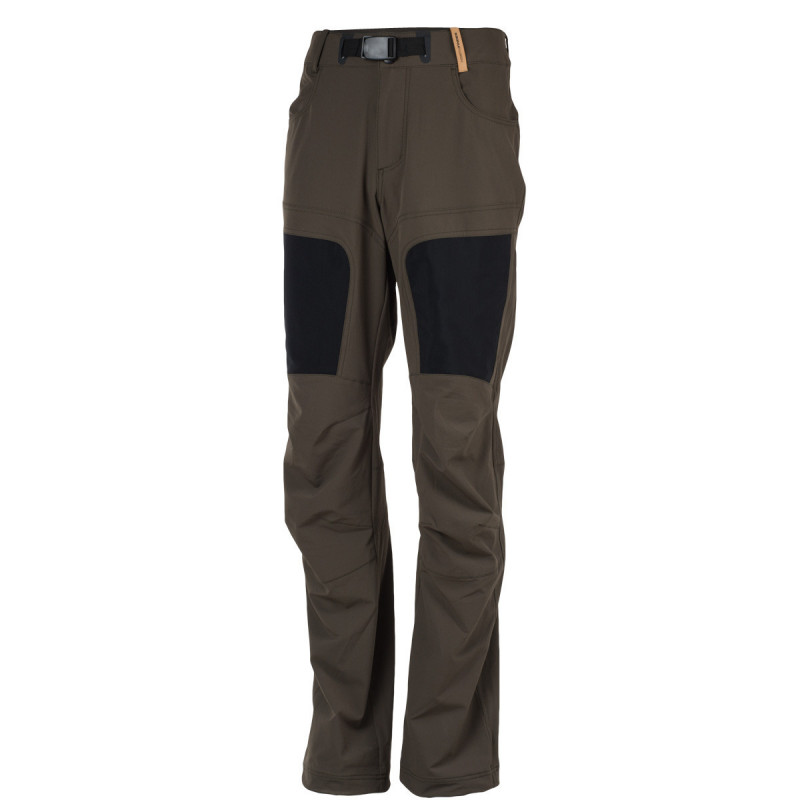 NORTHFINDER men's trousers 1-layer classic outdoor ORLANDO - Simple hiking trousers made of stretch fabric with water-repellent finish. Thanks to outstanding breathability, they are a good fit for physically demanding activities. Field-tested cut with practical adjustment elements increase wearer comfort.