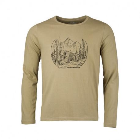 NORTHFINDER men's t-shirt organic cotton NEWROL