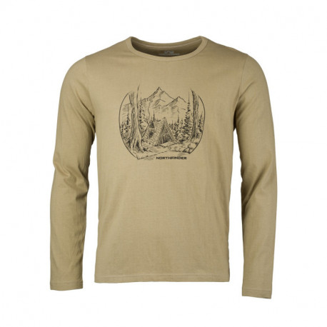 NORTHFINDER pánske tričko organická bavlna NEWROL