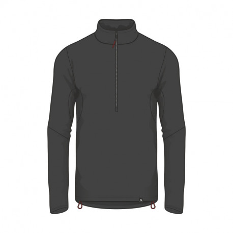 NORTHFINDER men's lightweight sweater ski power-stretch half-zip SULLIVAN