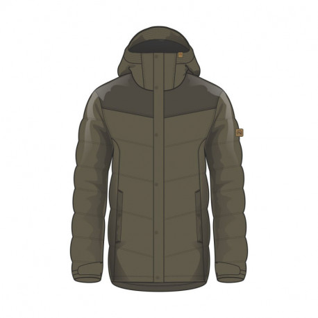 NORTHFINDER men's jacket insulated full adventure OTEDOR